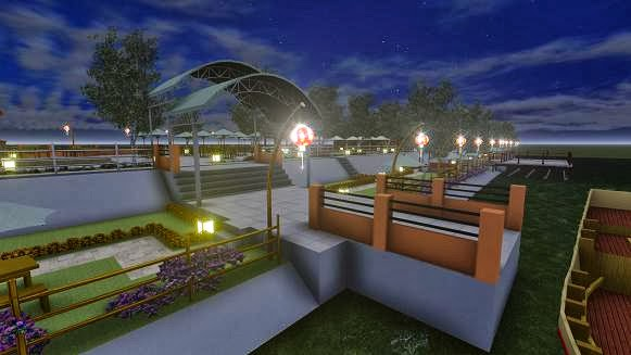 460+ Desain Taman Cafe Outdoor HD