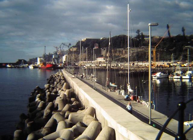 old photo: Marina do Funchal