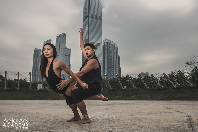 Interview with Teddy Lo and Vee Lea from Aerial Arts Academy on acro balance dance yoga adagio