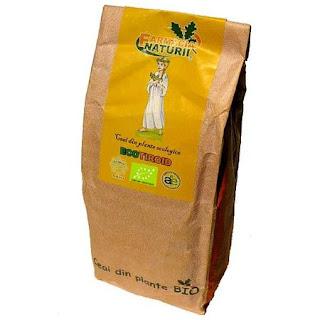 Asa arata ceaiul Ecotiroid pt tiroida pachet 50 gr