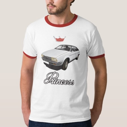 Austin Princess t-shirt 70's automobile