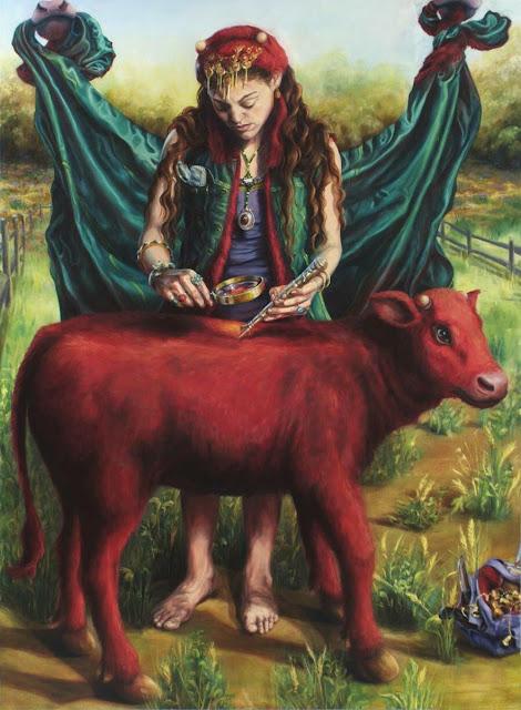 البقرة ميلودي عند اليهود