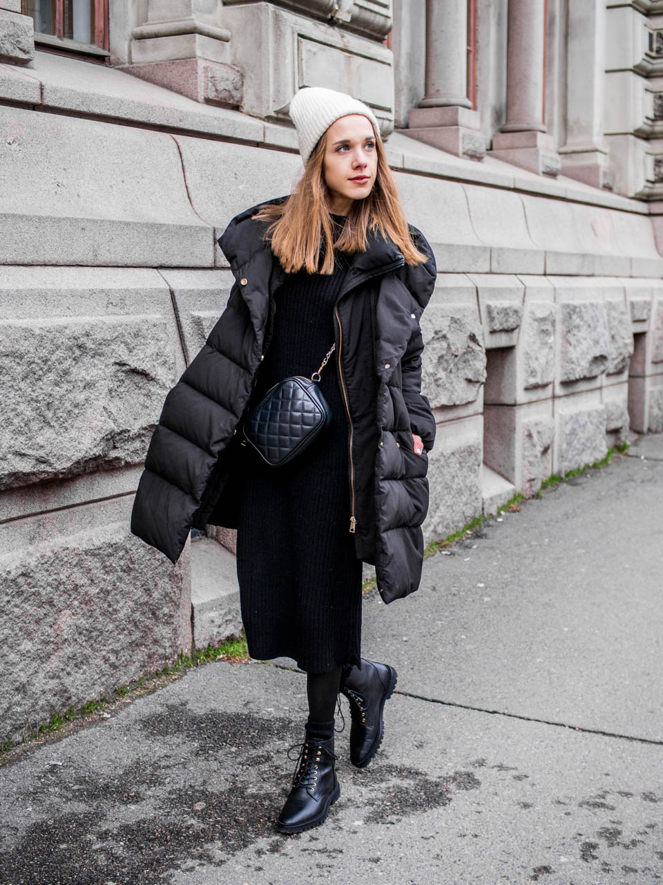 How to style lace up leather boots - Kuinka pukea nauhalliset nilkkurit