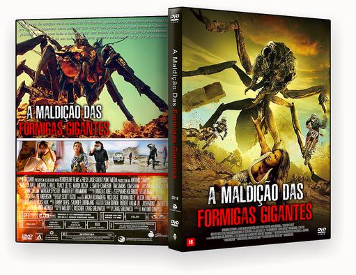 DVD-R A MALDIÇÃO DAS FORMIGAS GIGANTES 2018 – AUTORADO