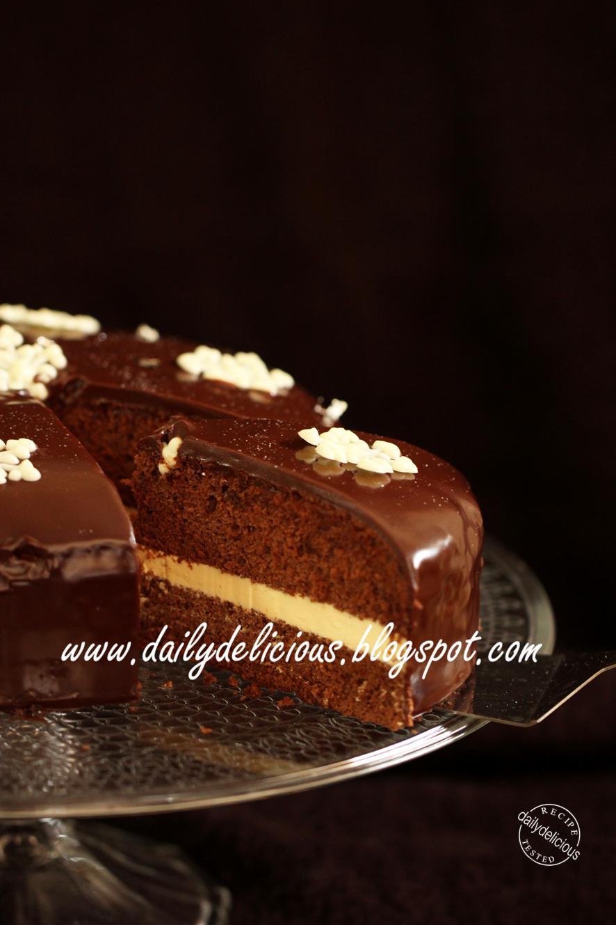 Chocolate Chiffon Cake Frosting