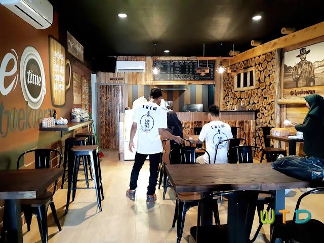 Desain Cafe Vintage Bandar Lampung
