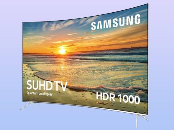 TV Samsung com resolução 4K e tecnologia de pontos quânticos