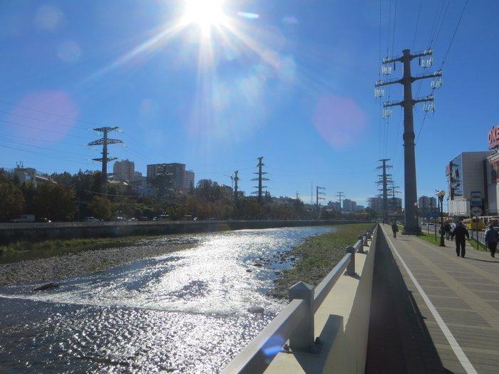 Река Сочи возле Тц