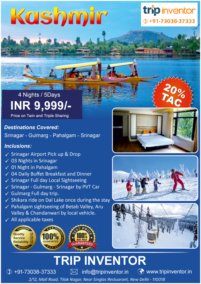 Why You Should Go to Kashmir - Top 3 Kashmir Tour Packages