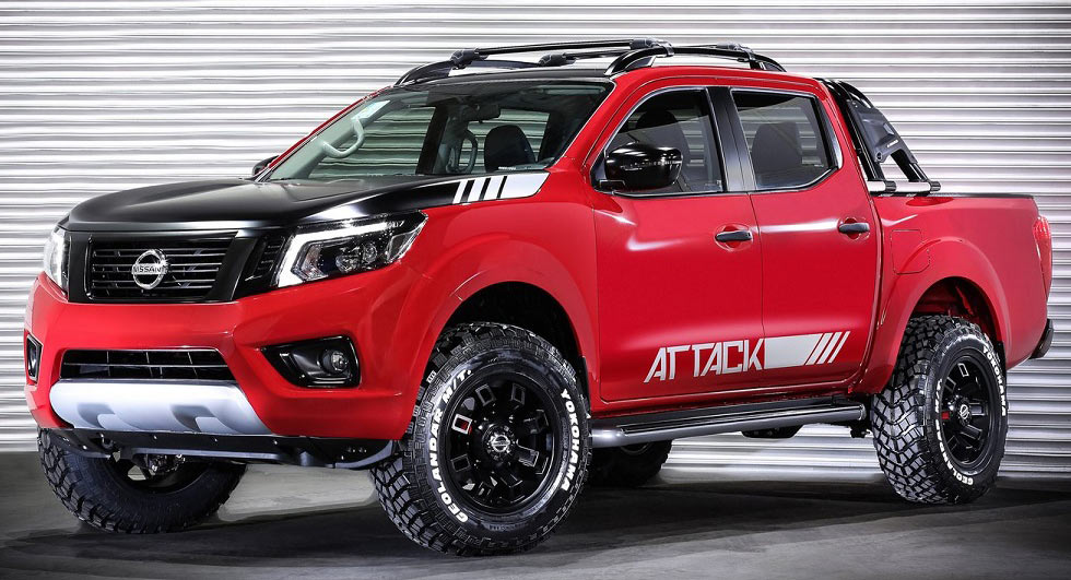 Nissan Frontier Next Generation >> Nissan Frontier Attack Concept Unveiled In Buenos Aires