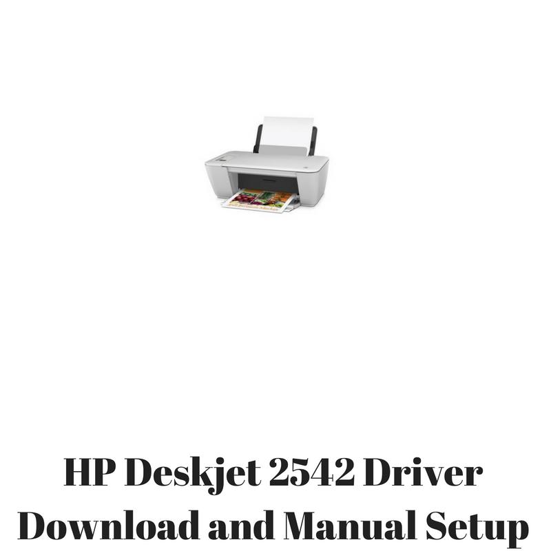 Deskjet 2542 install