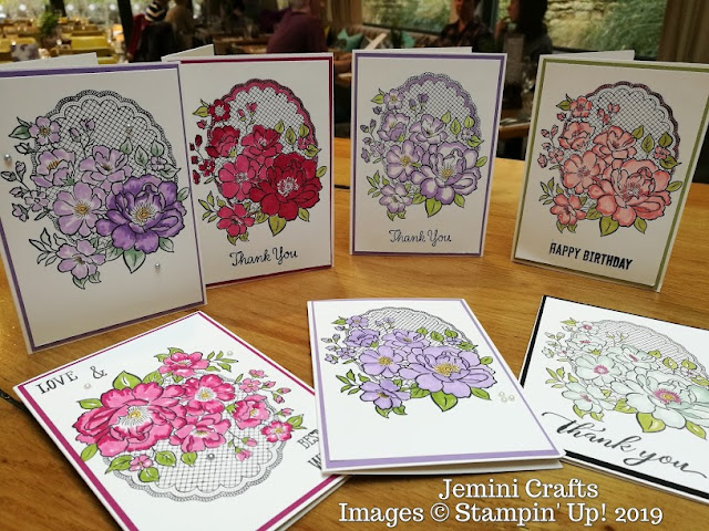 Lovely Lattice card with Jemini Crafts using Stampin' Up! products