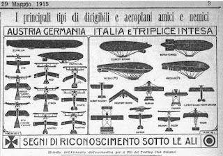 milano bombardamento prima guerra WWI tiraboschi