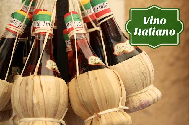 Italy Wine Straw Bottles