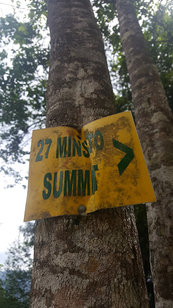 27 min to summit