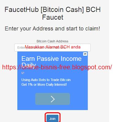 Cara Gratis Mendapatkan BitCoin Cash