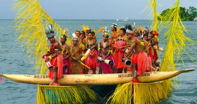 Festival Danau Sentani, Festival Belasan Suku Papua Yang Memukau Mata