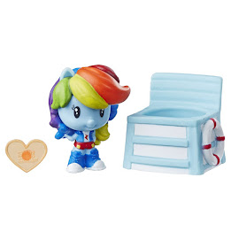 My Little Pony Blind Bags Beach Day Rainbow Dash Equestria Girls Cutie Mark Crew Figure