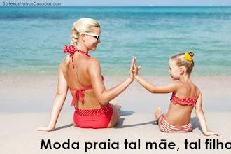 Moda praia tal mãe, tal filha |  Tendência verão moda praia