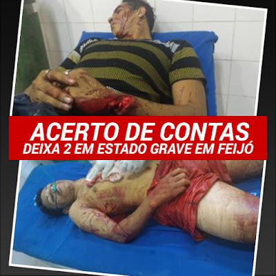 Acerto de contas deixa 2 em estado grave na noite de Terça em Feijó