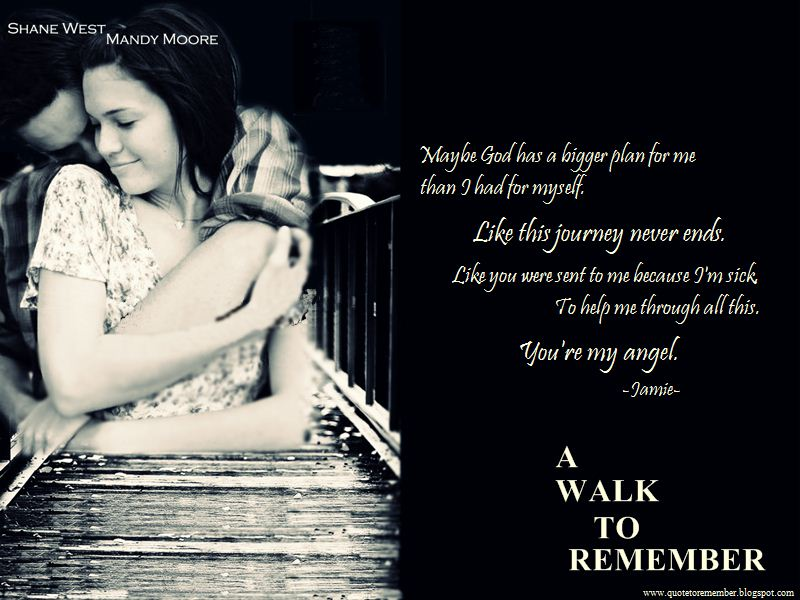 a walk to remember quotes from the movie - photo #3