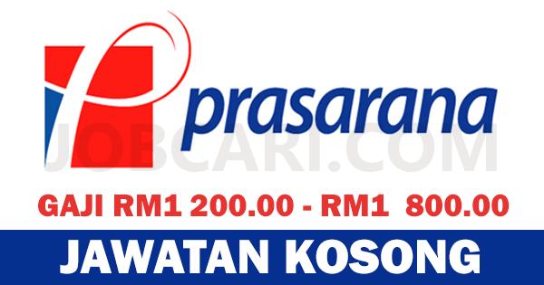 JAWATAN KOSONG DI PRASARANA MALAYSIA