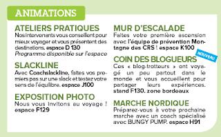 Animation Bungy Pump au Salon Destination Nature Paris 2017