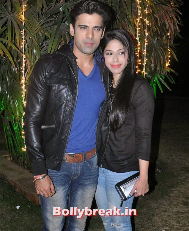 Mohit Malik and Aditi Shirwaker, Hot Tv Babes at GR8 Calendar 2014 Launch