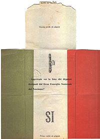 Il blog della biblioteca di marradi le elezioni durante for Biblioteca camera dei deputati