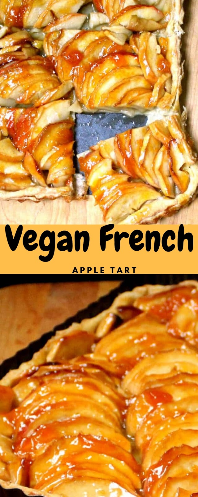 Vegan French Apple Tart