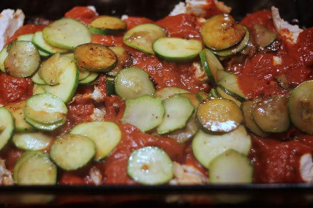 Got zucchini? This Italian Chicken Casserole is a cinch to make and the kids will gobble it up!