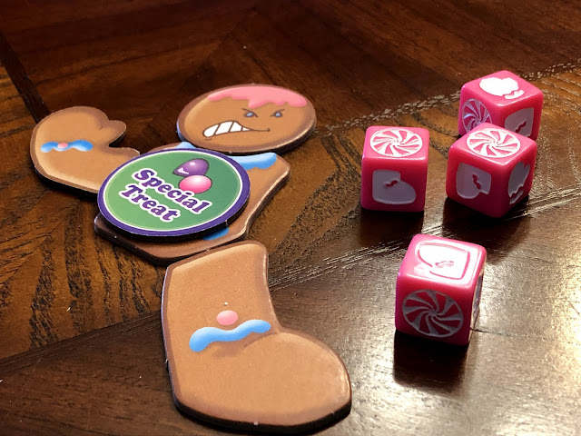 Smirk & Dagger Games Roll for Your Life, Candyman! board game review; Image by Benjamin Kocher