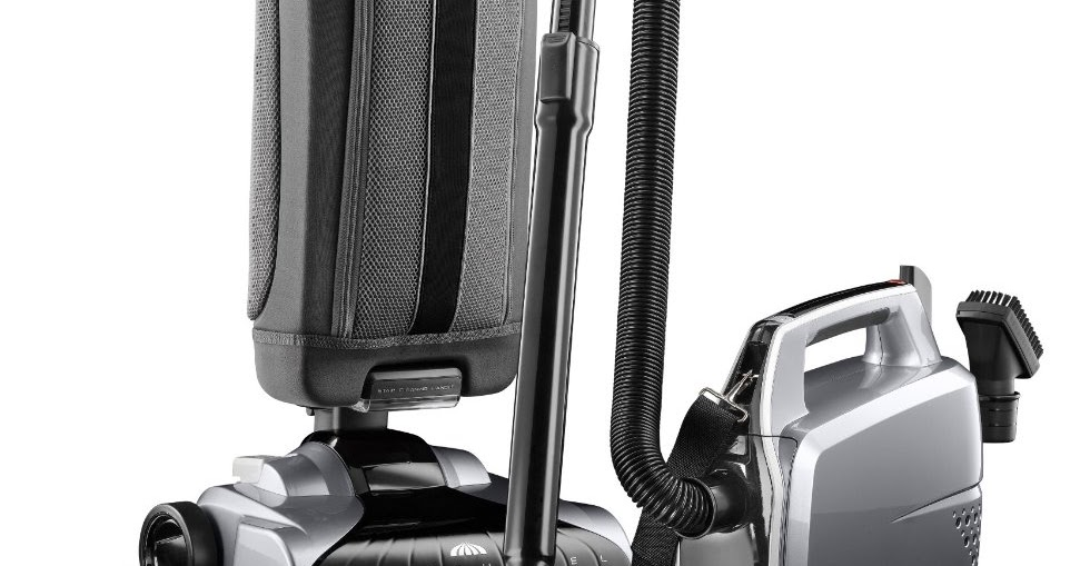 Hoover Platinum Lightweight Upright Vacuum With Canister