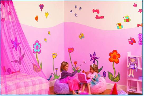 دهان غرف أطفال 2020 باللون الروز
