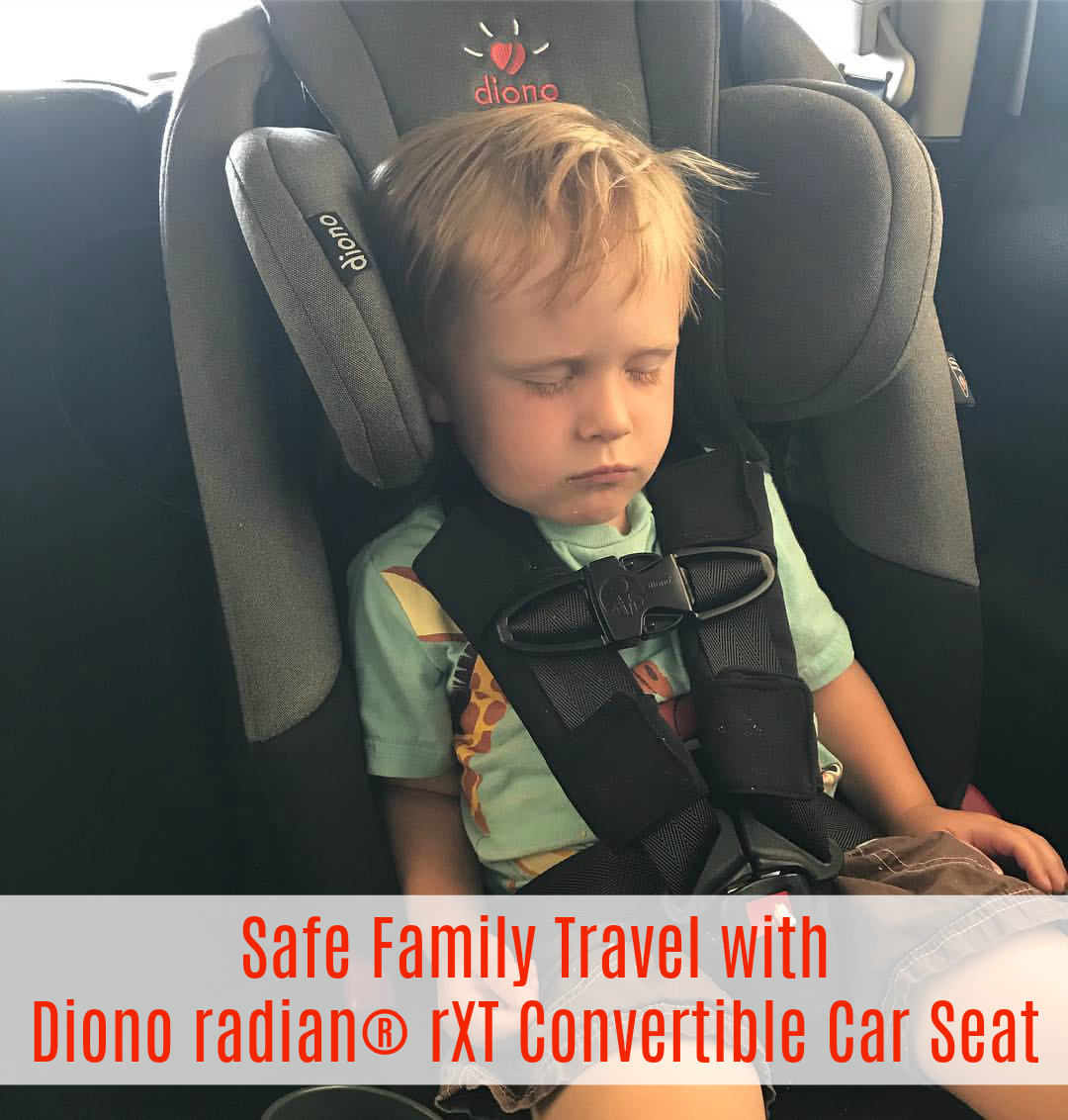 Diono is a top brand in child safety and with all of the traveling we have been doing this year i want to make sure my family is safe