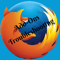 Firefox browser Add-on Troubleshooting