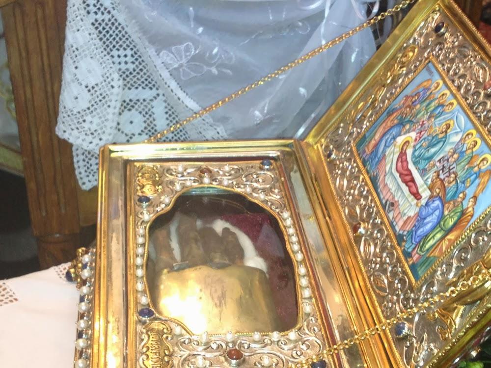 Πρώτη καταγραφή των λειψάνων της Αγίας Μεγαλομάρτυρος Μαρίνας http://leipsanothiki.blogspot.be/