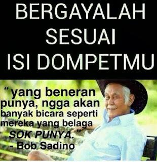 dp bbm foto gambar meme bob sadino
