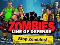 Download Game Zombie: Line of Defense v1.4 MOD APK+DATA