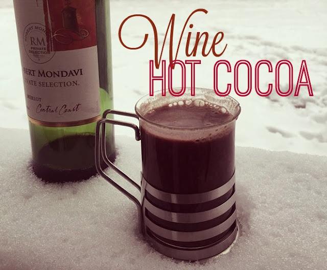Wine Hot Cocoa Recipe - Meetup Monday