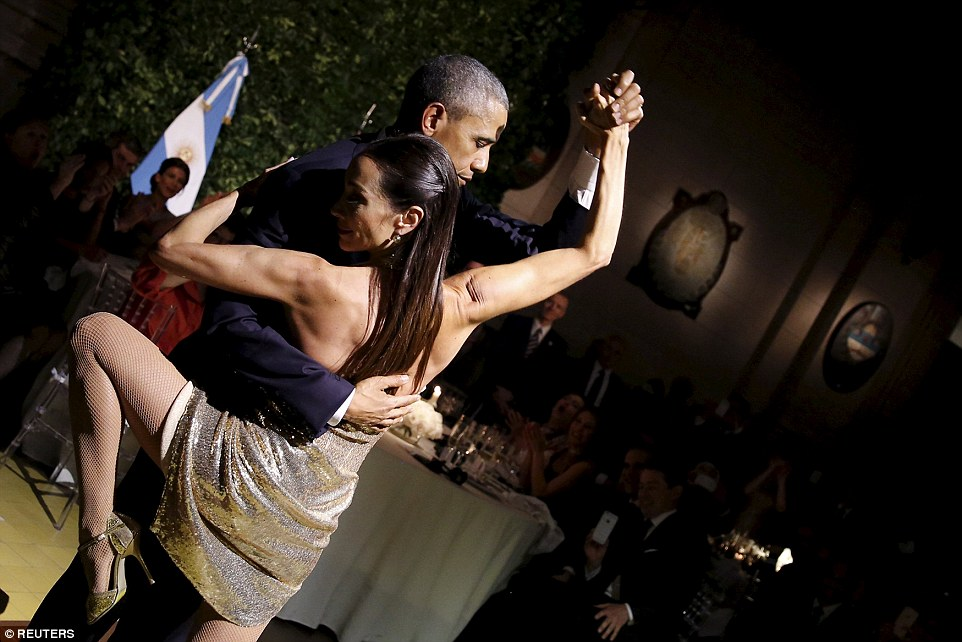 Photos: Pres. Obama And Michelle Tango During State Dinner In Argetina
