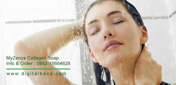 InbioPlus MyZenza Collagen Soap | Sabun Stemcell dengan Kolagen