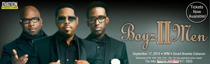 Lemon GreenTea: Boyz II Men LIVE in Manila this September 17