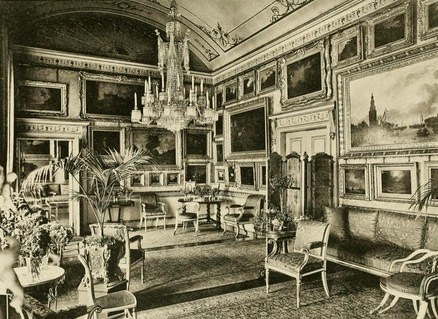 Piccadilly Room, Apsley House,  from Private Palaces of London by EB Chancellor (1908)