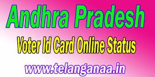 Andhra Pradesh AP Voter Id Card Online Status