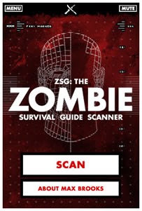 Zombie Survival Guide Scanner: l'app secondo Max Brooks
