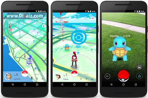 Pokemon Go V 0.29.0 Apk - www.divaizz.com