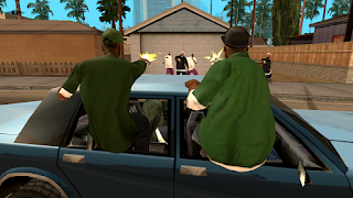 Grand Theft Auto San Andreas HD Remake (XBOX360)