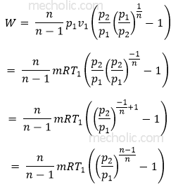 work done equation