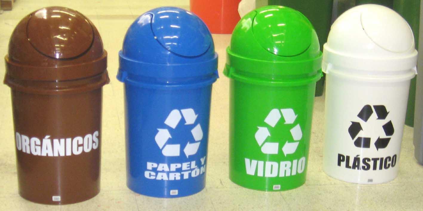 Tachos de reciclaje ecologicos colores de reciclaje que - Colores para reciclar ...
